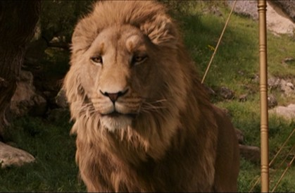Aslan the Lion in The Lion, the Witch and the Wardrobe