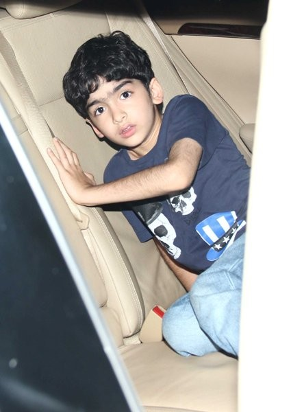 Hrithik's elder son at Special screening of 'X-Men: Days of Future Past'