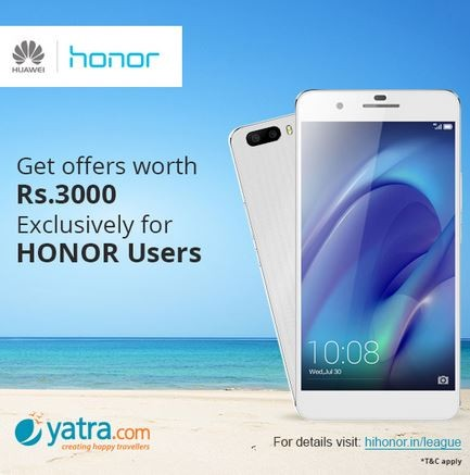 Huawei Honor 4X Flipkart Flash Sale 2.0 to Go Live on 6 April