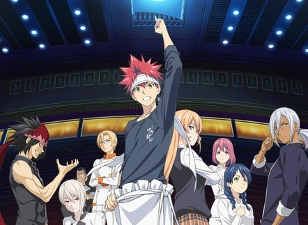 Latest picture from 'Food Wars' Season 2