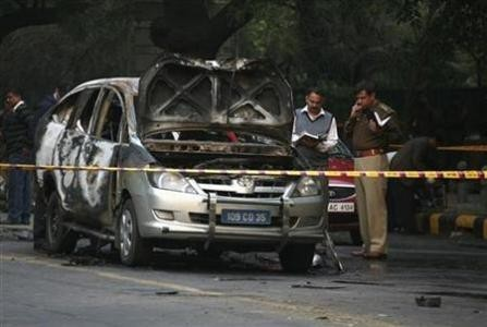 Four Injured in Bomb Blast near Israeli Embassy in Delhi (PHOTOS)