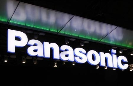 Logo of Panasonic Corp. is seen at CEATEC JAPAN 2011 electronics show in Chiba, east of Tokyo, October 4, 2011. The IT & Electronics comprehensive exhibition goes on till October 8.