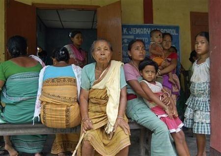 Assam riots refugees