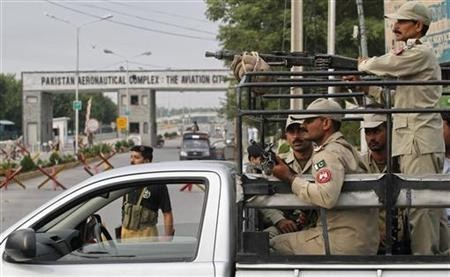 Militants Attack Pakistan's Minhas Air Force Base; 8 Killed