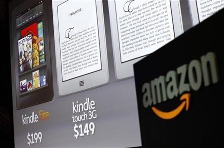 Amazon Kindle ereader store