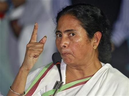 The TMC chief Mamata Banerjee