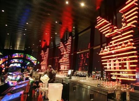 Bartenders at the Playboy Club in Las Vegas, Nevada
