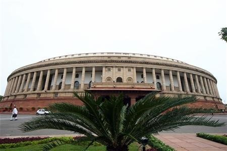 The Indian parliament building (Credit: Reuters)