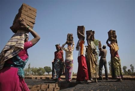 Forced labour- one of the chief modes of modern slavery in India