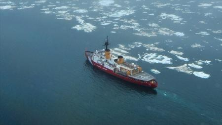 The Polar Star is the U.S. Coast Guard's only active heavy polar icebreaker.