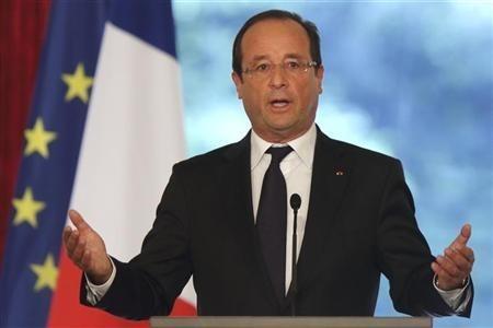 France's President Francois Hollande (Reuters)