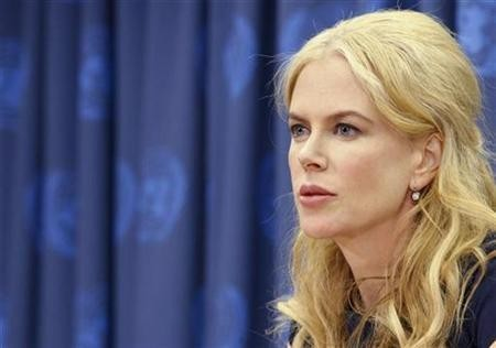Nicole Kidman's some-what curly hair (Reuters)