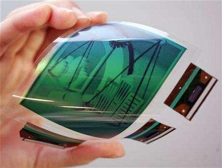 Samsung set to release Flexible display phone