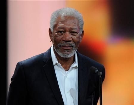 Actor Morgan Freeman who is confused with Mandela