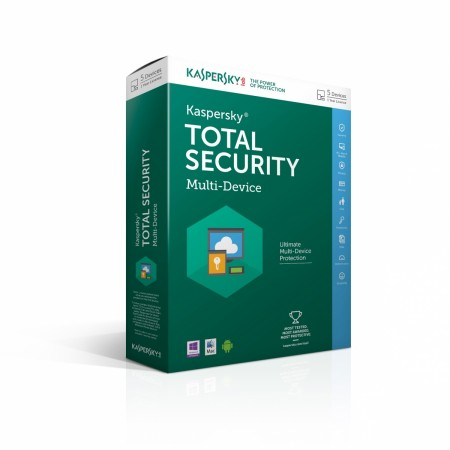 Kaspersky Total Security Multi device is a cross platform security suite supports up to 5 Android, iOS and Windows devices