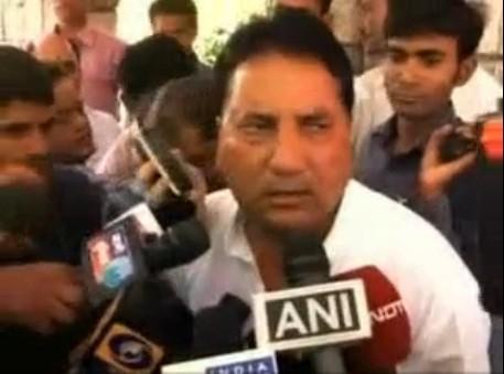 Suspended Congress Leader Babulal Nagar