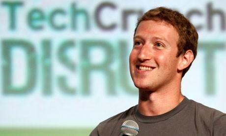 Facebook Inc CEO Mark Zuckerberg