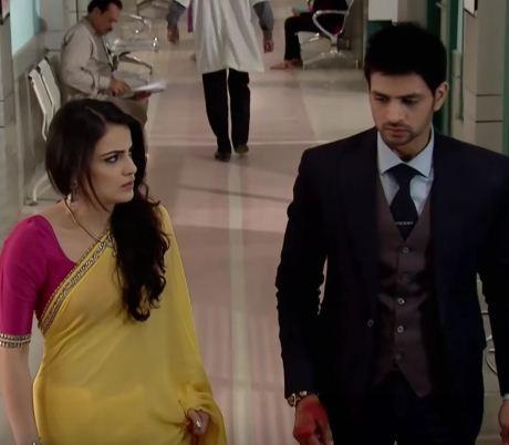 Ishani and Ranveer in 'Meri Aashiqui Tumse Hi'