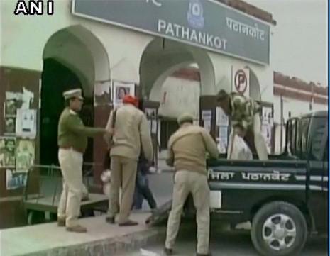 Pathankot bomb alert