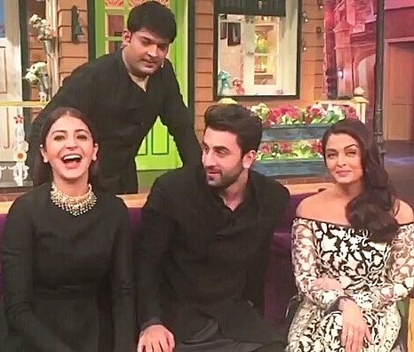 Anushka Sharma,Ae Dil Hai Mushkil,Ae Dil Hai Mushkil promotion,Ae Dil Hai Mushkil at Kapil Sharma,Ae Dil Hai Mushkil at Kapil Sharma Show,Ae Dil Hai Mushkil movie promotion,Aishwarya rai Bachchan,Ranbir Kapoor and Aishwarya Rai,Ae Dil Hai Mushkil pics,Ae