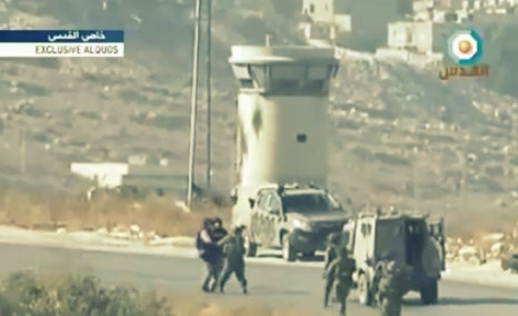 IDF soldiers attack AFP journalists