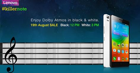 Rs 9,999 Lenovo K3 Note Flash Sale: #KillerNote Handset Available On Flipkart On 19 August