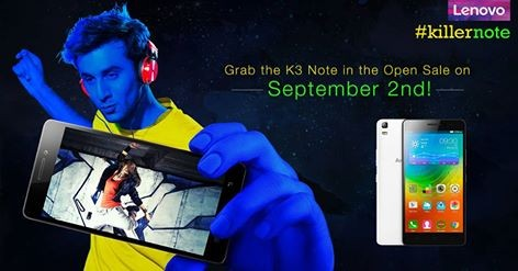 Rs 9,999 Lenovo K3 Note Open Sale: Buy The Killer Smartphone In Black, White Or Yellow Without Registrations