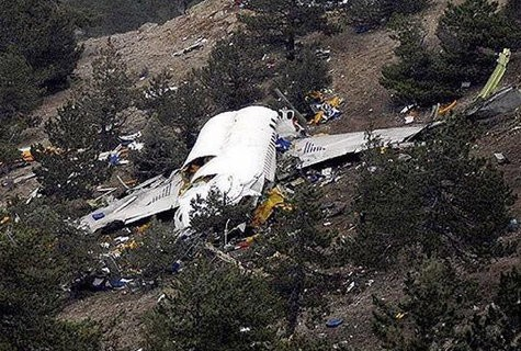 Crashed Airbus A320 wreckage picture has emerged online