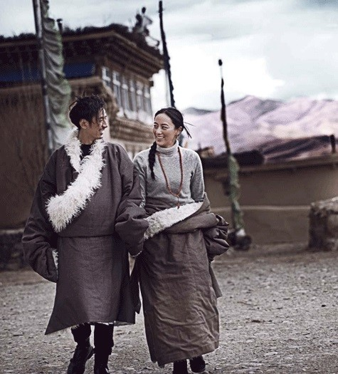 China tibetan couple