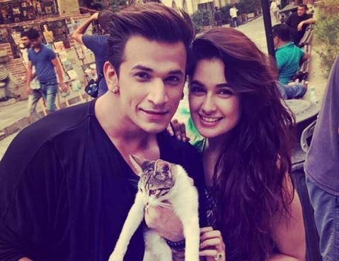 Yuvika Chaudhary denies visiting rumoured boyfriend Prince Narula on the sets of Badho Bahu