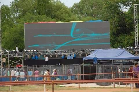 Baahubali Audio Launch,Baahubali Audio Launch Arrangements at Tirupathi,Baahubali Audio Launch Arrangements,Telugu Movie Baahubali Audio Launch,SS Rajamouli