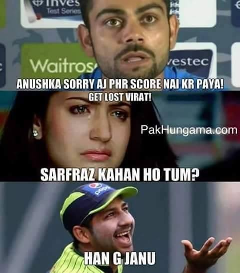 Anushka Sharma-Virat Kohli Memes Go Viral on Social Media after India ...