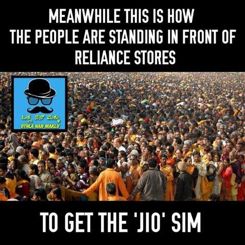 Jio,Jio effect,Reliance Jio,Reliance Jio 4g,Jio funny memes,Jio mems,Jio trolls,Jio funny trolls,Reliance Competitors,Air Tel,Aircel,BSNL