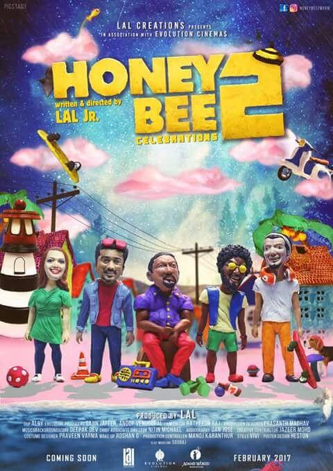 Honey Bee 2,Honey Bee 2 first look poster,Honey Bee 2 poster,Honey Bee 2 first look,Asif Ali,Bhavana,Honey Bee 2 pics,Honey Bee 2 images,Honey Bee 2 photos,Honey Bee 2 stills,Honey Bee 2 pictures