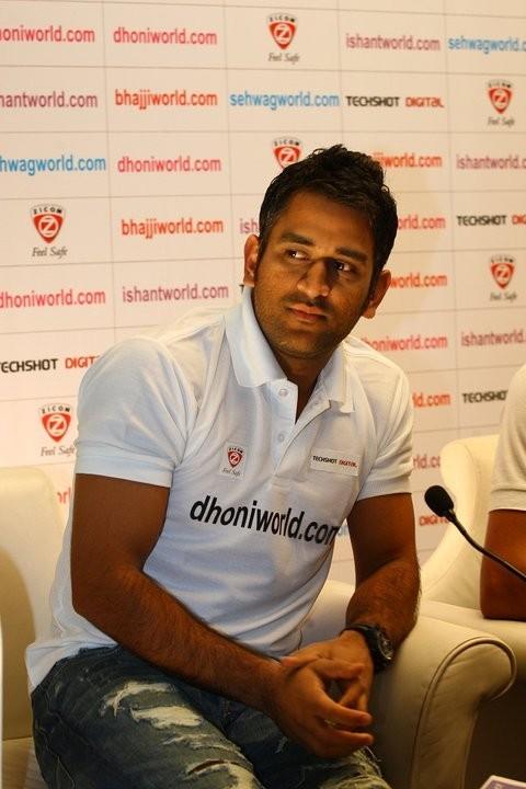 Indian Cricket team captain M S Dhoni