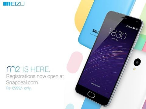 Meizu m2 registrations begin exclusively on Snapdeal: Price and availability [UPDATED]