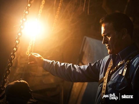 Bruce Campbell as Ash in 'Ash vs Evil Dead'