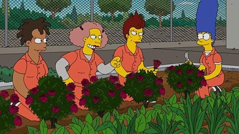 Will Marge get out of prison in the upcoming episode?