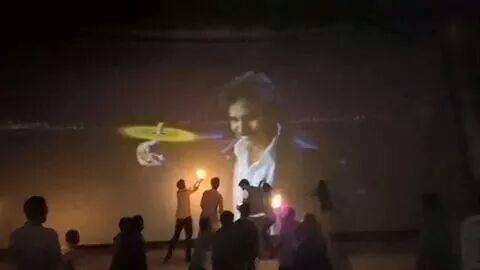 Pawan Kalyan Mania at Goapala Gopala Special Screening