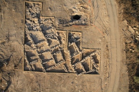 Aerial photographs (Skyview, courtesy of the Israel Antiquities Authority)