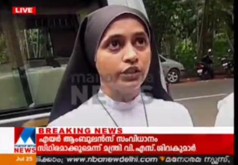 Kerala nun not allowed to take AIPMT test for wearing veil, pendant