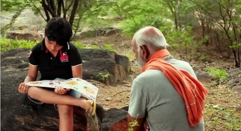 "Balu Mahendra in a screenshot from ""Thalaimuraigal"" trailer (YouTube)"
