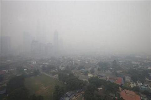 Haze Returns in Malaysia