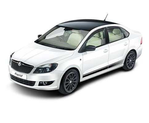 2014 Skoda Rapid Facelift Goes Official in India; Price, Feature Details