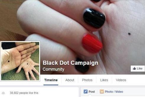 black dot campaign