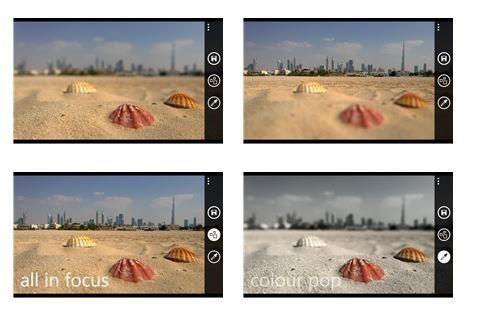 Nokia Refocus screen shot