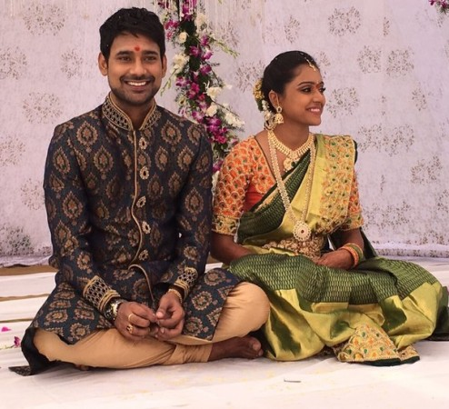 Varun Sandesh and Vithika Sheru engagement
