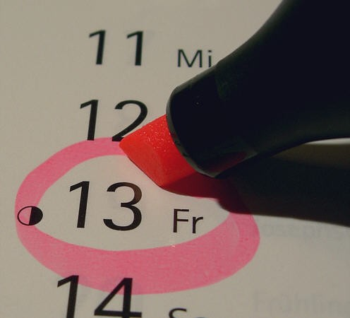 Friday the 13th, otherwise known as the most unlucky day in western superstition is here.