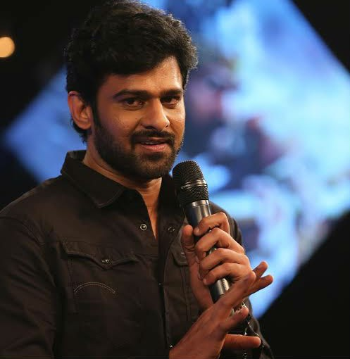 Prabhas at 'Baahubali' trailer release event.
