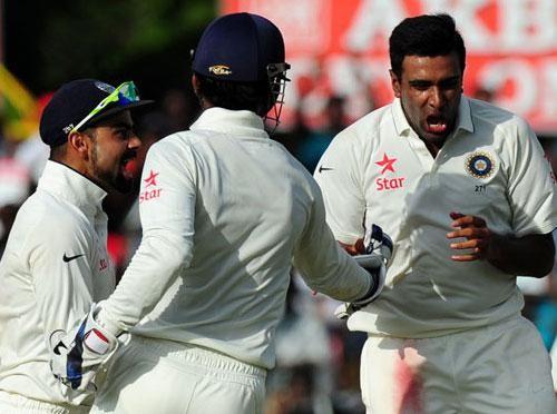 India beat Sri Lanka,India beat Sri Lanka by 278 Runs,Sri Lanka by 278,virat kohli,ashwin,Ravichandran Ashwin,2nd test Match,sangakkara